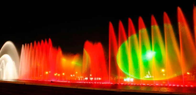 Haciendo Turismo en Lima: Disfrutando del circuito mágico del agua en Lima