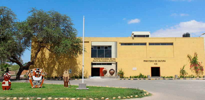 Pasea por el Museo Regional de Ica por tours lima peru en Ica