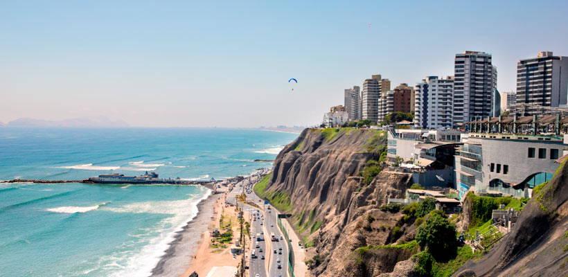 Costa verde Lima peru