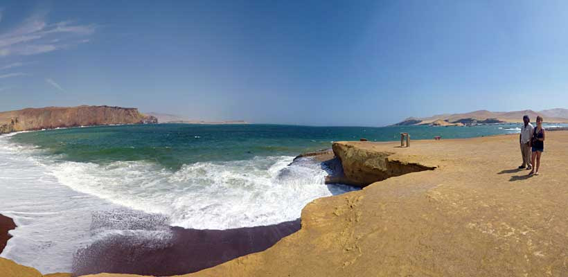tour en lima hacia Paracas vacaciones