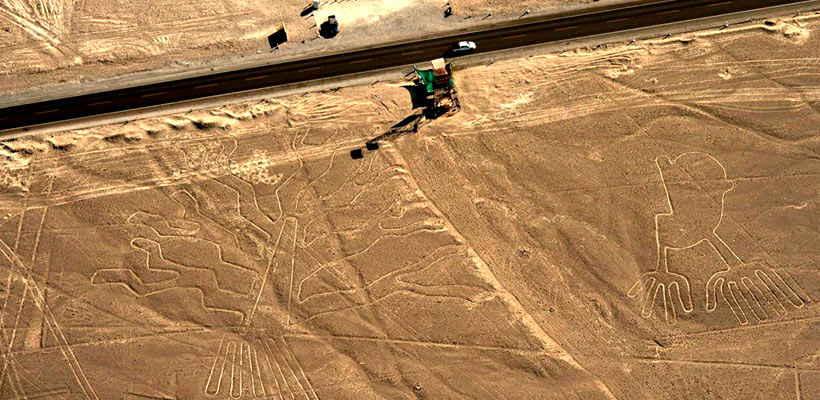 Realiza un tour sobrevuelo de Lineas de Nazca
