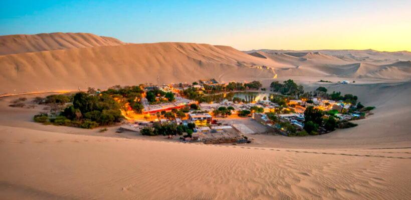 Tour Huacachina y Sobrevuelo Líneas de Nazca