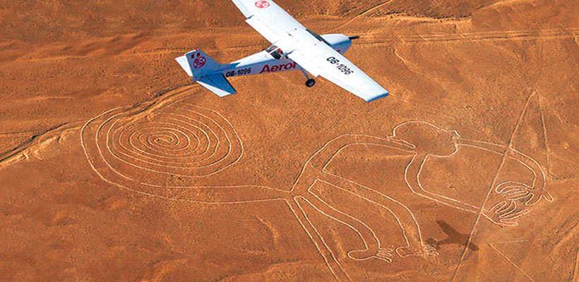 Visita las Lineas de Nazca por tour en lima e Ica